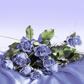фон из роз — Стоковое фото
