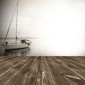 Old wooden texture, background — Stock Photo