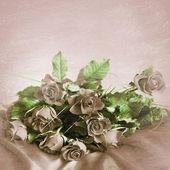 Bakgrund av rosor — Stockfoto