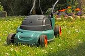 庭の芝刈機 — ストック写真