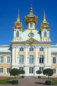 Peterhof, Saray Kilisesi — Stok fotoğraf