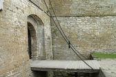 Chain drawbridge — Stock Photo