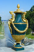 Peterhof, vaso decorativo — Foto Stock