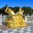 "Tritons of the trumpets in the shell"" - Stock Photo"