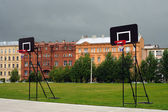 Shields to play streetball — Stock Photo