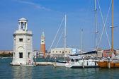 Wenecja, parking jachtów — Zdjęcie stockowe