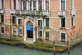 Venice, the house on the corner — Stock Photo
