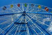 Kemerovo, a fragment of a Ferris wheel — Stock Photo