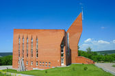 Kemerovo, modern building Protestant Church — Stock Photo
