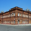 Tomsk, old brick building — Stockfoto