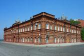 Tomsk, old brick building — Stock Photo