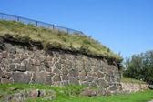 Vyborg, the wall of the Pantserlaks Bastion — ストック写真