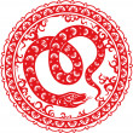 Snake year 2013 — Stock Vector