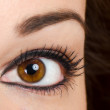 Beautiful woman eye — Stock Photo