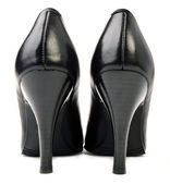 Pair black high heels — Stock Photo