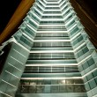 Skyscraper by night — Stock Photo