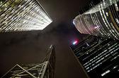 Skyscrapers in Hong-kong — Stock Photo