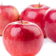 Group of red apples — Stockfoto