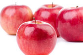 Group of red apples — Stock Photo
