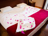 Bed of Red Roses — Stock Photo