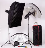 Lighting equipments — Stock Photo