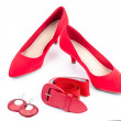 Red accessories — Stock Photo #44703277