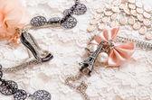 Romantic accessories — Stock Photo
