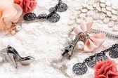 Beautiful accessories — Stock Photo