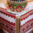 easter cake kulich or panettone — Stock Photo