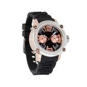 Relógio de pulso isolado no branco — Foto Stock