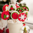 Homemade christmas cookies - gingerbread - Foto Stock
