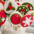 Homemade christmas cookies - gingerbread — ストック写真