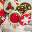 Homemade christmas cookies - gingerbread — Stockfoto