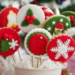 Homemade christmas cookies - gingerbread — Foto de Stock