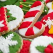 Stock Photo: Homemade christmas cookies - gingerbread