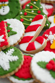 Homemade christmas cookies - peperkoek — Stockfoto