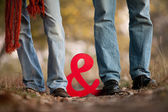 Casal juntos — Fotografia Stock