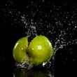 Apple splash — Stock Photo #40645773
