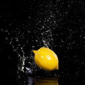 柠檬闪屏 — 图库照片