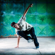 Stock Photo: Breakdancer
