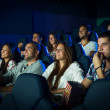 People in Cinema — Stock Photo
