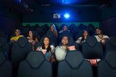 People in Cinema — Stock Photo
