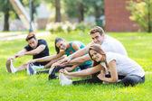 Fitness Friends — Stock Photo