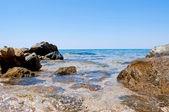 Stones in the sea — Stock Photo