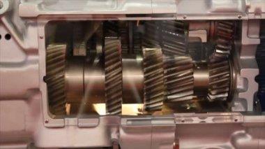 Heavy truck gears — Stock Video