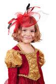 Beautiful little girl — Stok fotoğraf