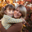 Mother and daughter portrait — Stock Photo #14180019