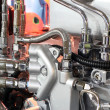 Heavy truck engine detail — Foto de stock #15600713