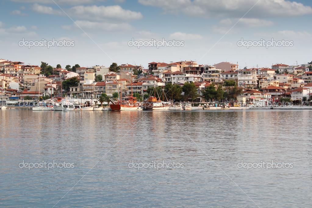 Дом в Неос Мармарас на берегу моря