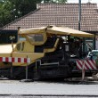 Road construction machinery and equipment — Stock Photo